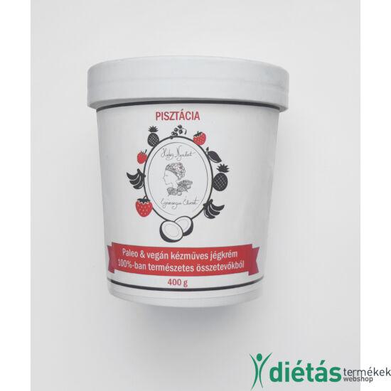 Hideg nyalat Pisztácia jégkrém (paleo, vegán, gluténmentes, tejmentes) 450ml közepes
