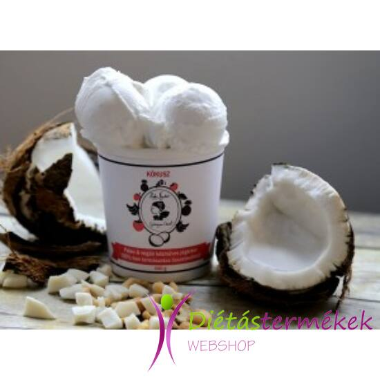 Hideg nyalat Kókusz jégkrém (paleo, vegán, gluténmentes, tejmentes) 450ml közepes