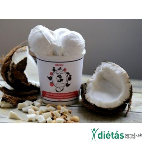 Hideg nyalat Kókusz jégkrém (paleo, vegán, gluténmentes, tejmentes) 150ml