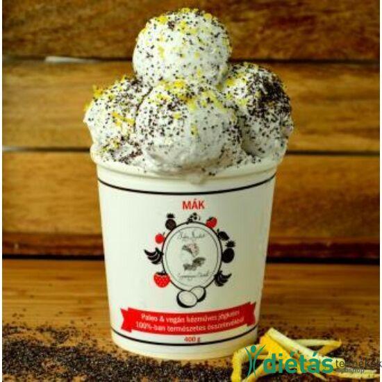Hideg nyalat Mák jégkrém (paleo, vegán, gluténmentes, tejmentes) 1000ml nagy