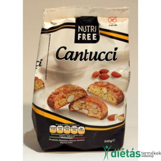 Nutri Free Cantucci gluténmentes mandulás keksz 240g