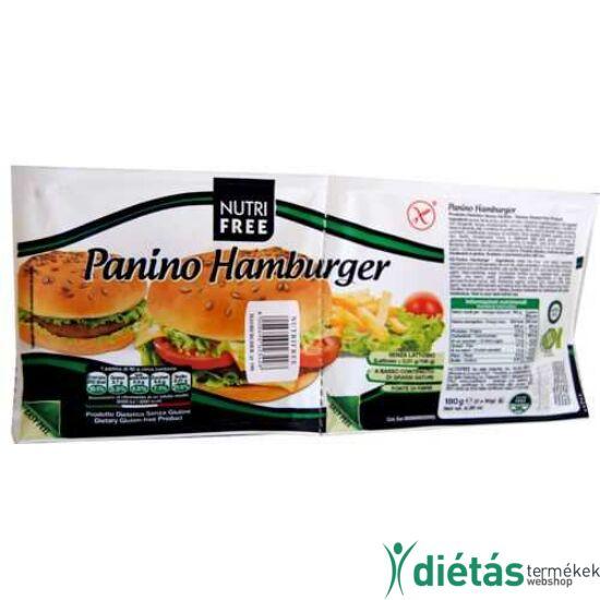 Nutri Free Panino gluténmentes hamburger zsemle 180g