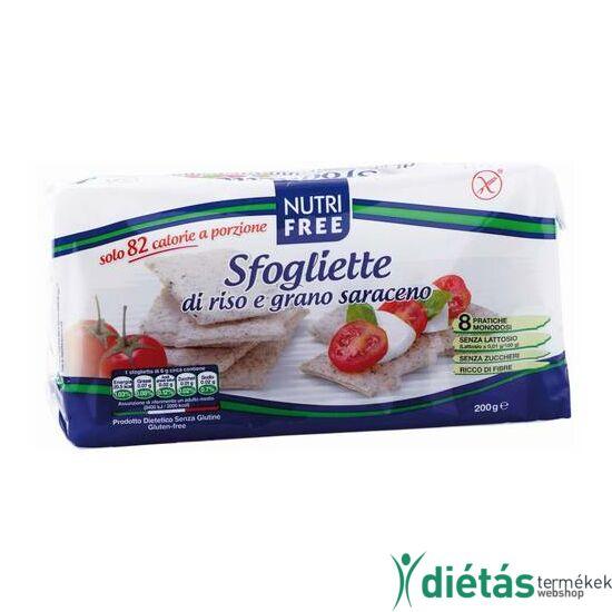 Nutri Free Sfogliette gluténmentes puffasztott rizsszelet 200g