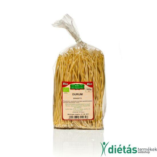 Rédei bio tészta durum fehér spagetti (tojásmentes, vegán) 500g