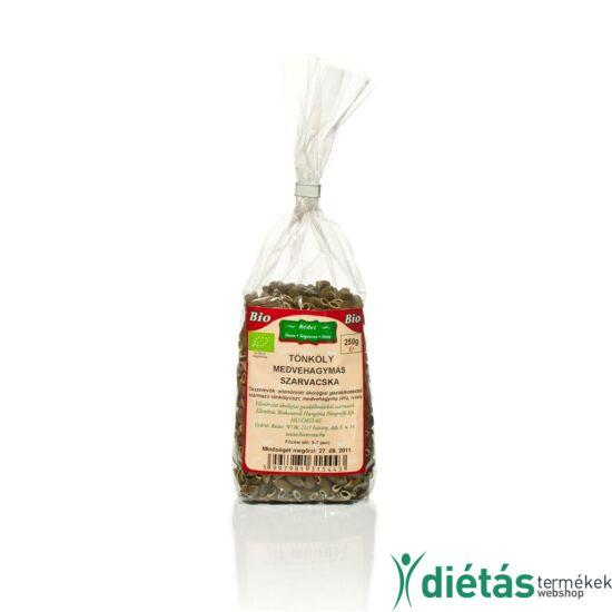 Rédei bio tészta medvehagymás szarvacska (tojásmentes, vegán) 250 g