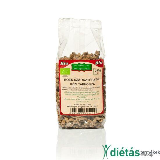 Rédei bio tészta rozs tarhonya kézi (tojásmentes, vegán) 250 g