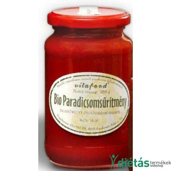 Vitafood Bio paradicsomsűrítmény 380 g