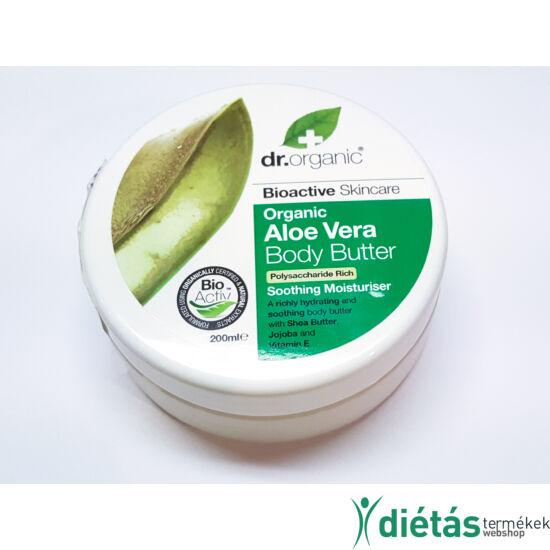 Dr.Organic BIO Aloe vera testápoló VAJ 200 ml