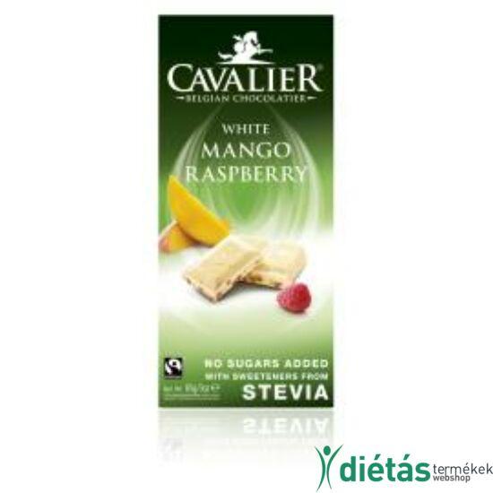 Cavalier fehér csokoládé mangóval és málnával 85 g