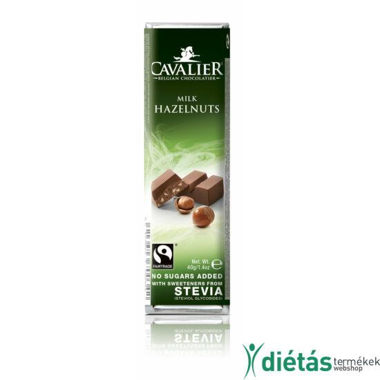 Cavalier mogyoródarabos tejcsokoládé 40 g