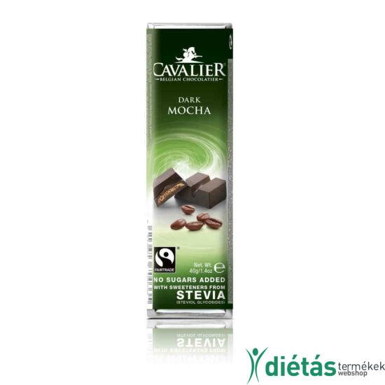 Cavalier kávékrémes étcsoki 40 g KICSI