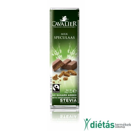 Cavalier kekszes tejcsokoládé 40 g