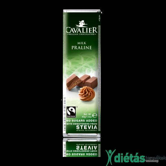 Cavalier mogyorós pralinés tejcsokoládé 40 g
