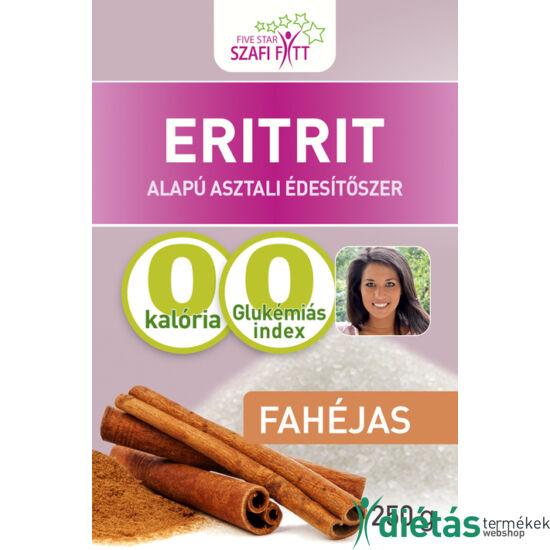 Szafi Fitt Fahéjas eritrit (eritritol) 250g
