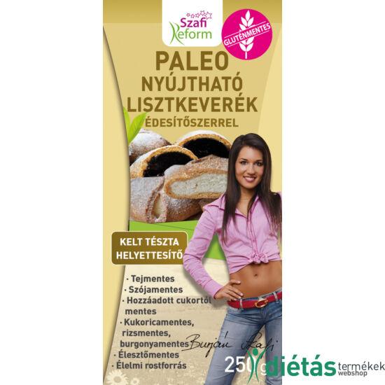 Szafi Reform Nyújtható Édes kelt tészta helyettesítő liszt (paleo és vegán) gluténmentes 250g