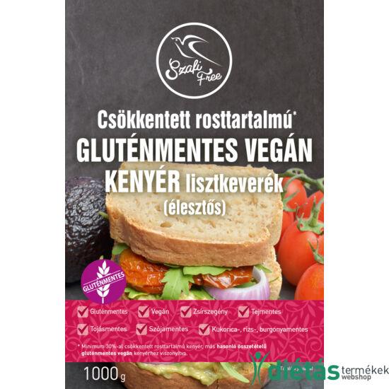 Szafi Free csökkentett rosttartalmú gluténmentes vegán kenyér lisztkeverék (élesztős) 1000g
