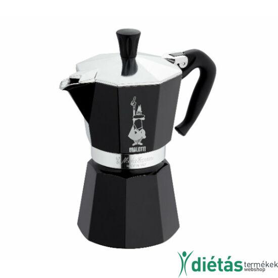 Bialetti Moka Colour kotyogó fekete 6 cup