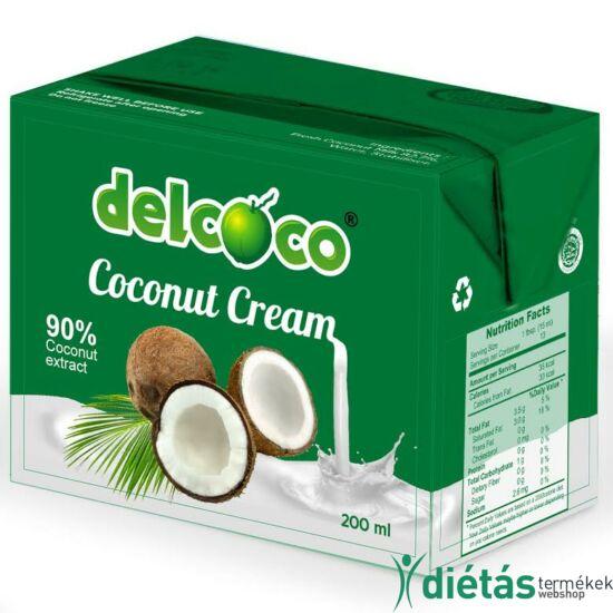 DelCoco kókuszkrém 200 ml