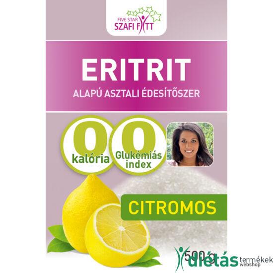 Szafi Fitt Citromos ízű eritrit (Eritritol) 500g
