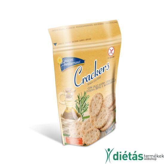 Piaceri Mediterranei Crackers keksz 125g