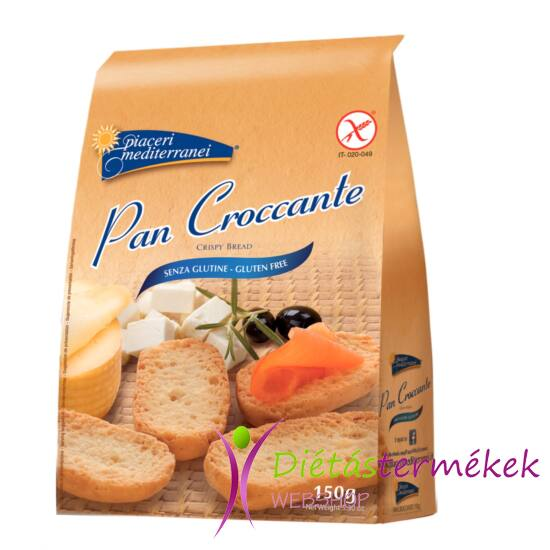 Piaceri Mediterranei Pan Croccante pirított kenyér 150g