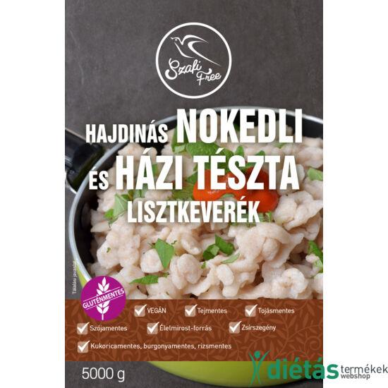 Szafi Free Hajdinás Nokedli és házi tészta lisztkeverék 5000g (gluténmentes, tejmentes, tojásmentes, zsírszegény)