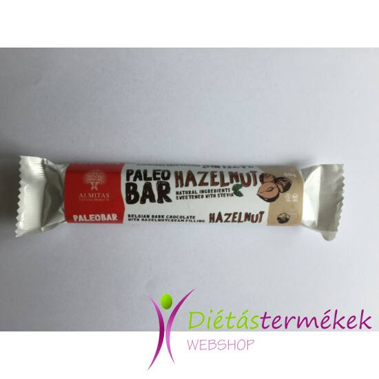 Almitas mogyorókrémes étcsokoládé 40 g