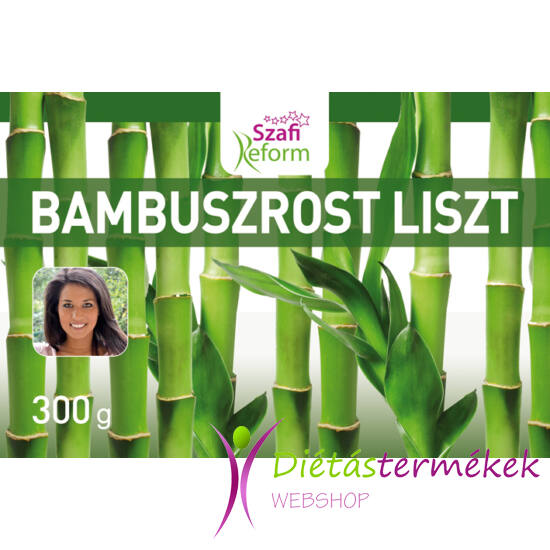Szafi Reform Bambuszrost liszt (gluténmentes, paleo, vegán) 300G