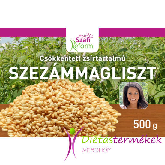 Szafi Reform csökkentett zsírtartalmú szezámmagliszt (gluténmentes) 500 g