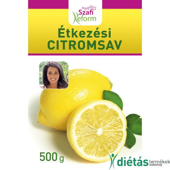 Szafi Reform Étkezési citromsav 500g