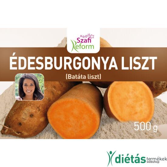 Szafi Reform Édesburgonya (Batáta) liszt (gluténmentes) 500 g