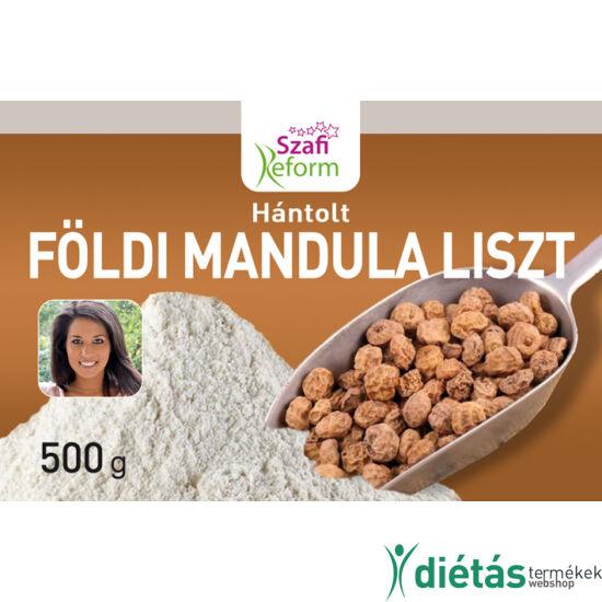 Szafi Reform Hántolt földimandula liszt / Mandulafű (Cyperus esculentus) liszt (gluténmentes) 500g