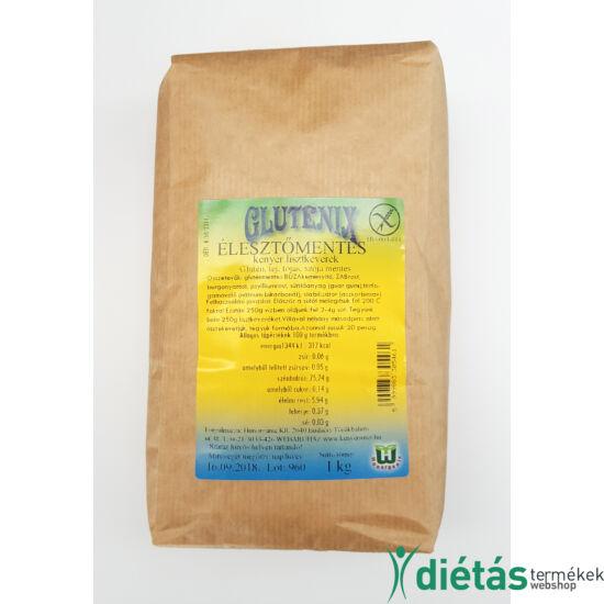 Glutenix Élesztőmentes, Glutén- és Tej-, Tojásmentes Kenyér lisztkeverék (MINDENMENTES) 1 kg