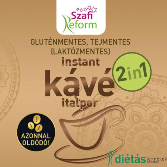 Szafi Reform (gluténmentes, tejmentes, laktózmentes, paleo, vegán) 2in1 kávé italpor 180 g