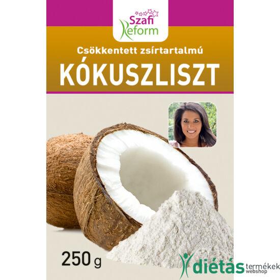 Szafi Reform csökkentett zsírtartalmú kókuszliszt (gluténmentes) 250g