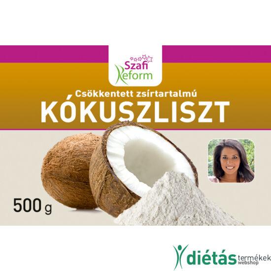 Szafi Reform csökkentett zsírtartalmú kókuszliszt (gluténmentes) 500g