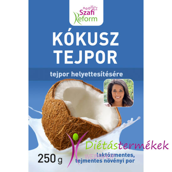 Szafi Reform Kókusz tejpor (gluténmentes, tejmentes, vegán, paleo) 250 g
