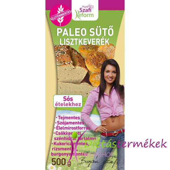 Szafi Reform Paleo sütőliszt (gluténmentes) 500 g