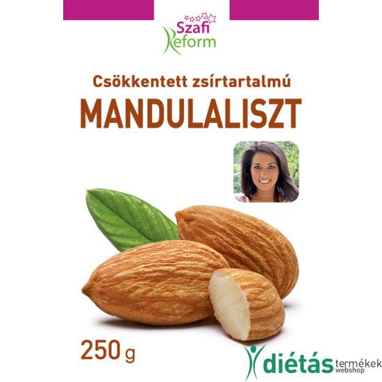 Szafi Reform csökkentett zsírtartalmú mandulaliszt (gluténmentes) 250 g