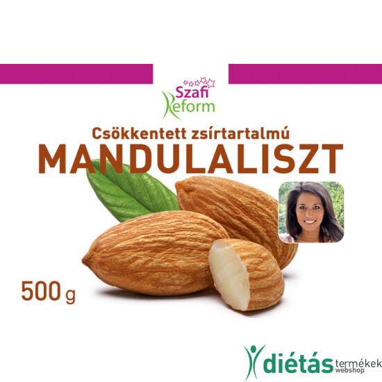 Szafi Reform csökkentett zsírtartalmú mandulaliszt (gluténmentes) 500 g