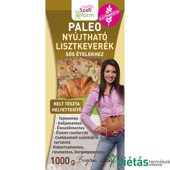Szafi Reform Nyújtható sós kelt tészta helyettesítő lisztkeverék (gluténmentes, paleo és vegán) 1000g