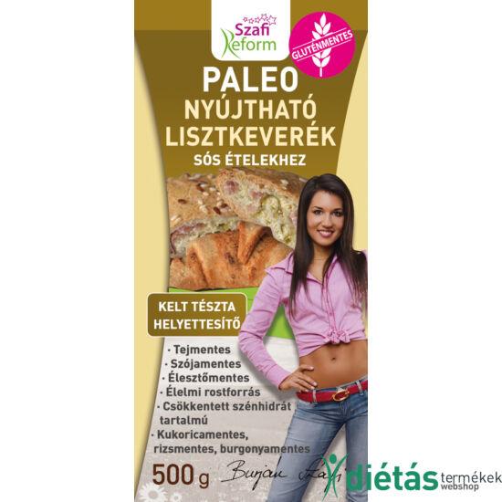 Szafi Reform Nyújtható sós kelt tészta helyettesítő liszt (gluténmentes, paleo és vegán) 500g