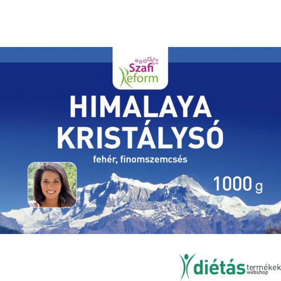 Szafi Reform Himalaya kristálysó, fehér, finomszemcsés 1000 g