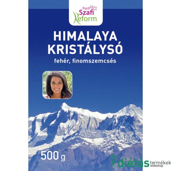 Szafi Reform Himalaya kristálysó, fehér, finomszemcsés 500 g
