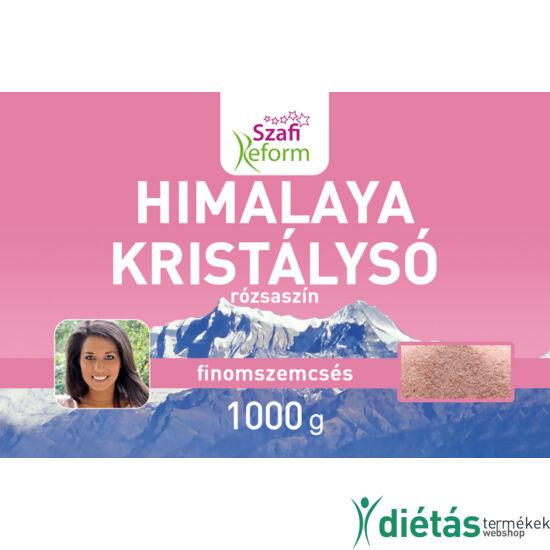 Szafi Reform Himalaya kristálysó, rózsaszín, finomszemcsés 1000 g