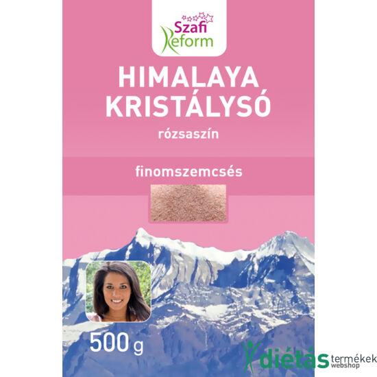 Szafi Reform Himalaya kristálysó, rózsaszín, finomszemcsés 500g
