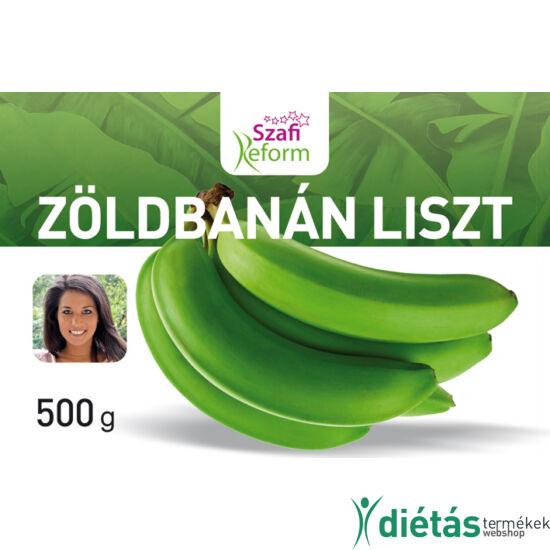 Szafi Reform Zöldbanán liszt (gluténmentes) 500 g