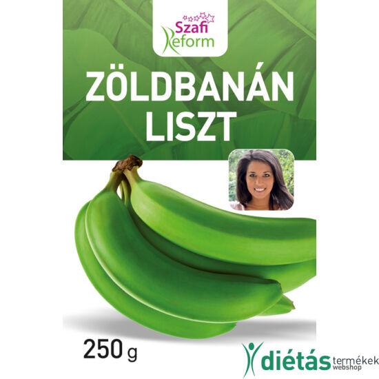 Szafi Reform Zöldbanán liszt (gluténmentes) 250g