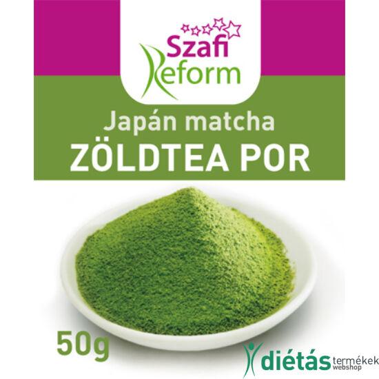 Szafi Reform Japán Matcha zöldteapor 50 g