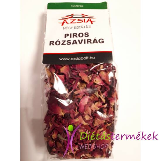 Piros szárított rózsavirág fűszer 15 g